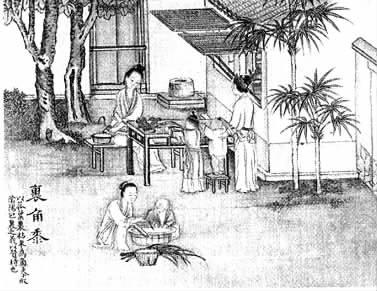 包粽子是端午节重要的风俗之一