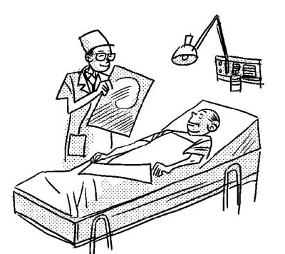 医院卡通简笔画