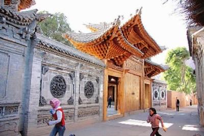 青海省循化撒拉族自治县,约占撒拉族总人口的90%,其余散居于甘肃临夏