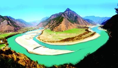 怒江最美风景人文照片