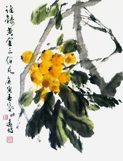 邓远坡写意画图片