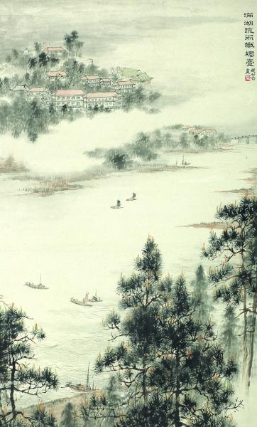 当我们将江南绘画史的长卷缓缓展开时,绵延于太湖之滨的无锡画脉瑰奇