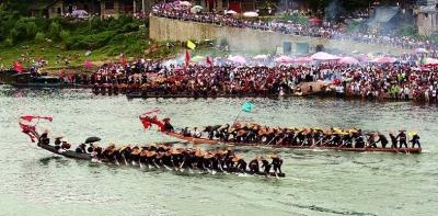 划龙舟 无奇不有 武当休闲山庄 稳定,和谐,人性化的中文社区 -划龙舟