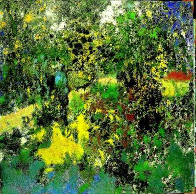 后 院(油画) 陈和西