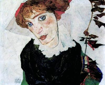 席勒/曾被纳粹掠走的埃贡·席勒的《沃莉肖像》