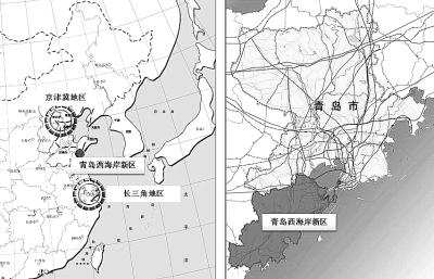 青岛西海岸新区具有辐射内陆