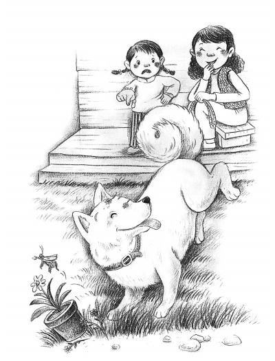 狐狸爸爸的简笔画步骤