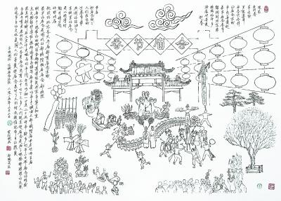 京城庙会记往