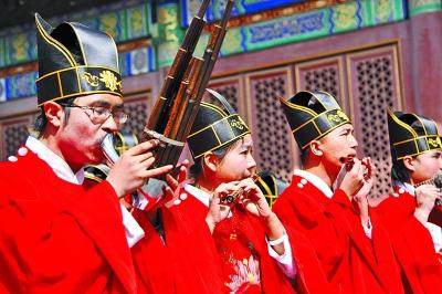 大美华夏礼仪在历代帝王庙展出