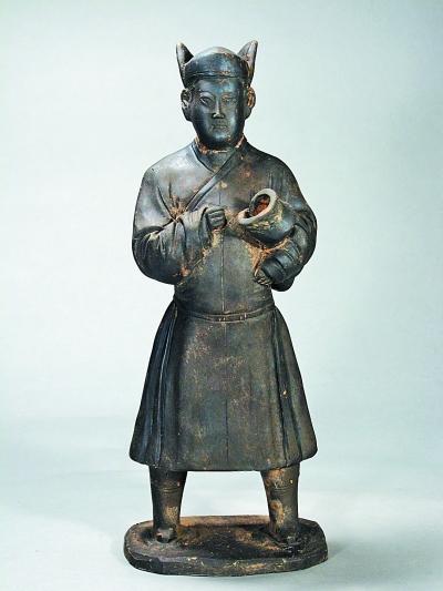 西安南郊发现元代明确纪年墓葬 医学教授墓出土大量生动传神陶俑