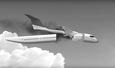 时在机身,机翼,襟翼