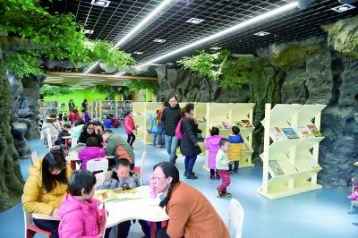 山东省少年儿童图书馆在济南开放-光明日报-光明网