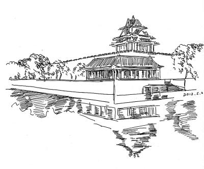 故宫手绘画 简单