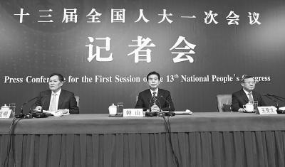 商务部部长钟山、副部长兼国际贸易谈判副代表王受文、副部长钱克明