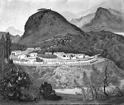 油画赏析:吴冠中与西柏坡