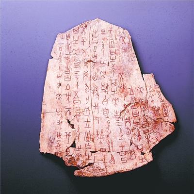 写在甲骨上的中国自信 ——三大看点领略国博甲骨文文化展
