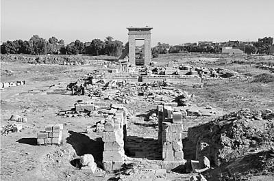 中埃联合对孟图神庙遗址考古取得新进展