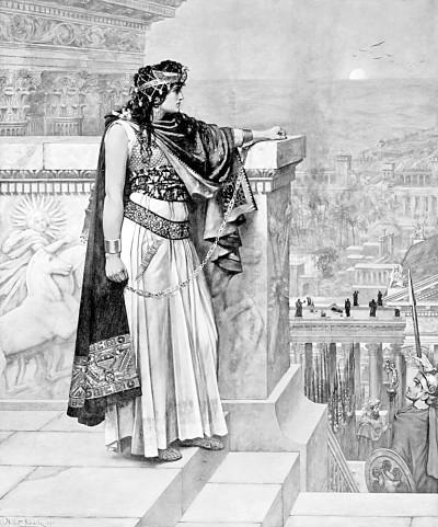 帕尔米拉女王齐诺比亚
