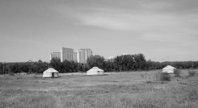 包头市赛汗塔拉城中草原