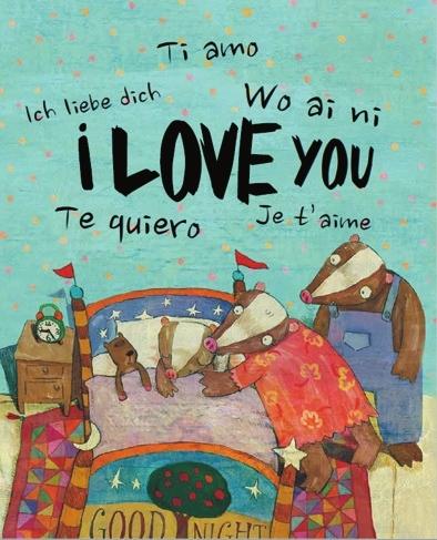 """爱意的故事:调皮,可爱的小獾从幼儿园里学会了说""""我爱你"""",从此它像一"""