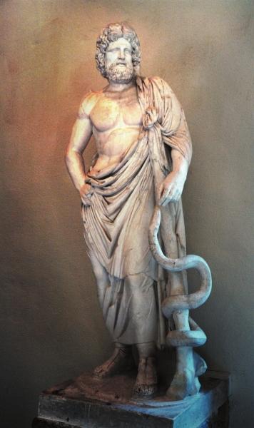 阿斯克勒庇俄斯:从凡人到神只